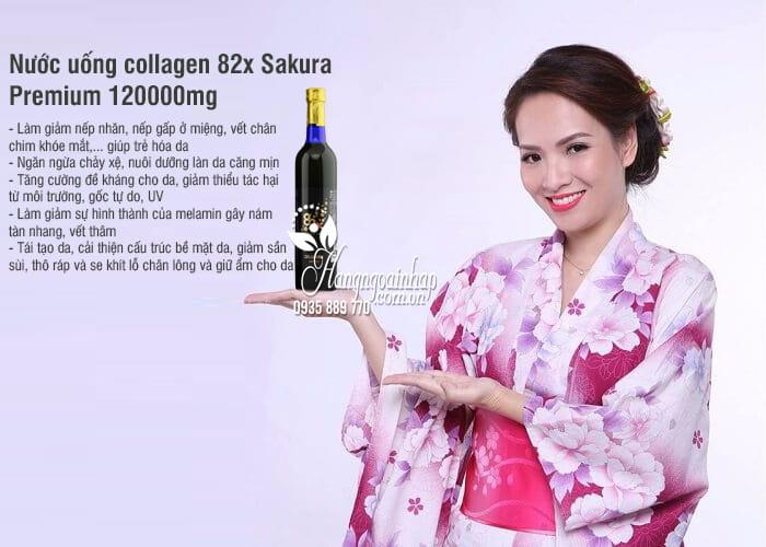 Nước uống collagen 82x Sakura Premium 120000mg mẫu mới 2