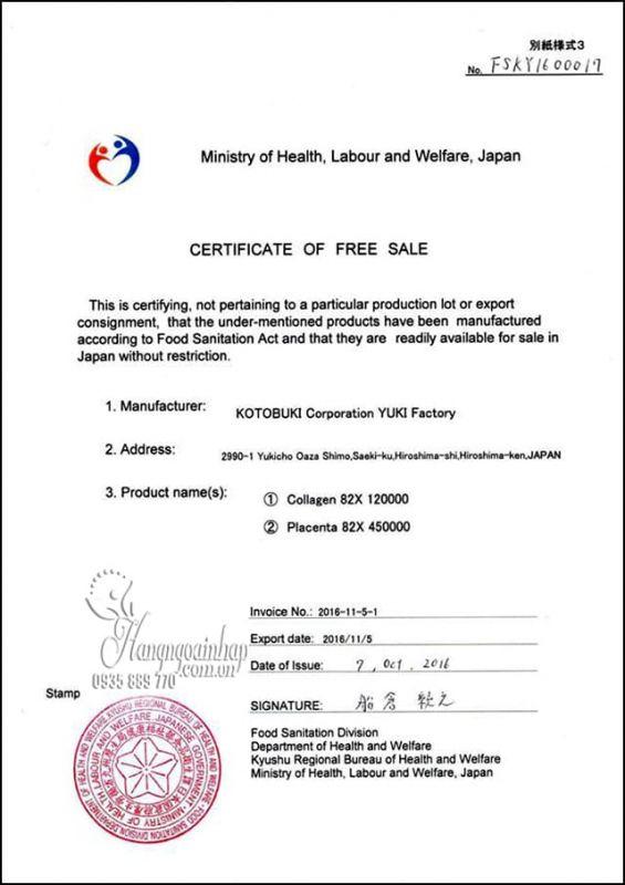 Nước uống collagen 82x Sakura Premium 120000mg mẫu mới 12