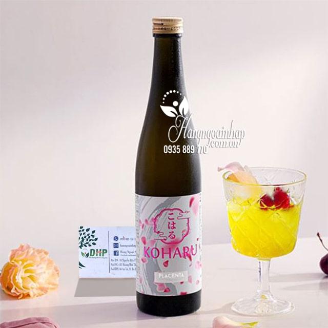 Nước uống đẹp da chống lão hóa Koharu Collagen Nhật Bản 6