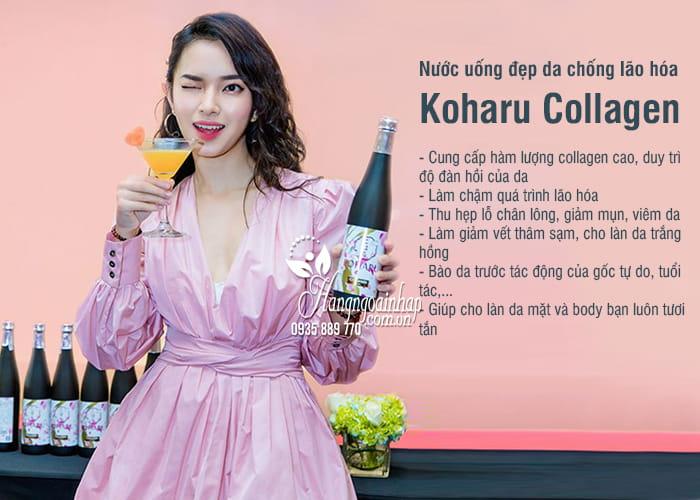 Nước uống đẹp da chống lão hóa Koharu Collagen Nhật Bản 2