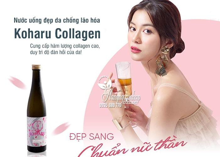 Nước uống đẹp da chống lão hóa Koharu Collagen Nhật Bản 1