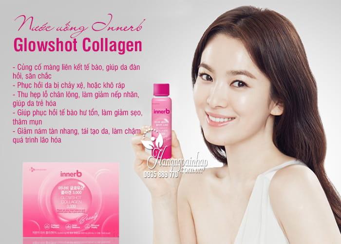 Nước uống Innerb Glowshot Collagen 3000mg của Hàn giá tốt 4