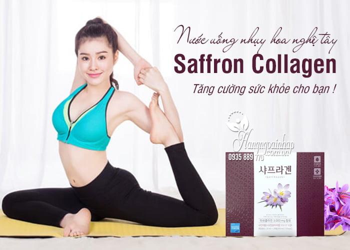 Nước uống nhụy hoa nghệ tây Saffron Collagen 3000mg 30 chai 12