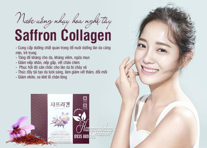 Nước uống nhụy hoa nghệ tây Saffron Collagen 3000mg 30 chai 77