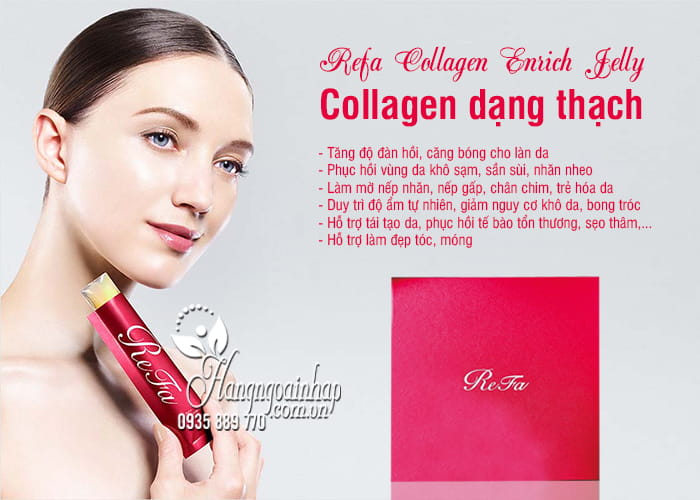 Refa Collagen Enrich Jelly - Collagen dạng thạch của Nhật 2