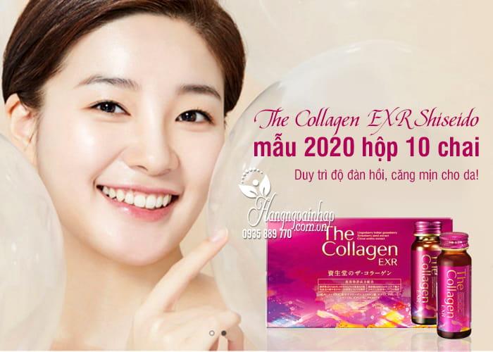 The Collagen EXR Shiseido Nhật Bản mẫu 2020 hộp 10 chai  1
