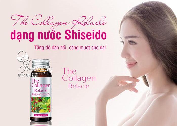 The Collagen Relacle dạng nước Shiseido 10 chai Nhật Bản 5