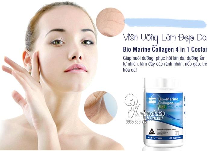 Viên uống Bio-Marine Collagen 4 in 1 Costar Úc 120 viên 4