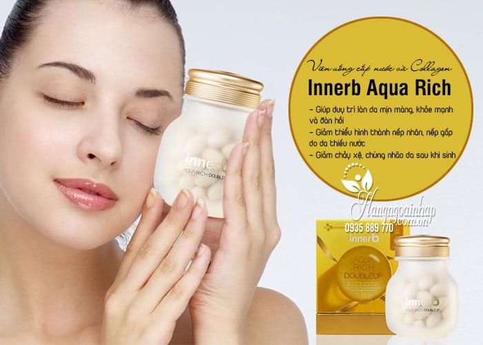 Viên uống cấp nước và Collagen Innerb Aqua Rich chính hãng 5