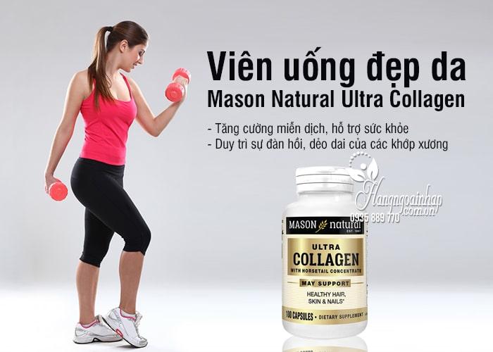 Viên uống đẹp da Mason Natural Ultra Collagen 100 mẫu mới 2