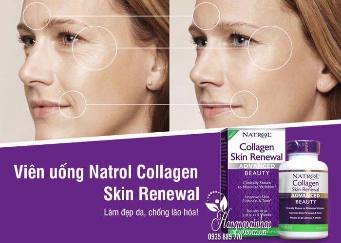 Viên uống Natrol Collagen Skin Renewal 120 viên chống lão hóa 5