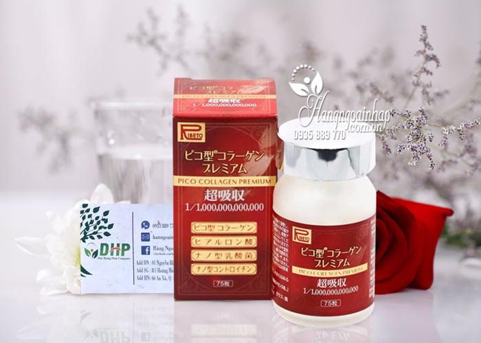 Viên uống Pico Collagen Premium Ribeto 75 viên Nhật giá tốt 9