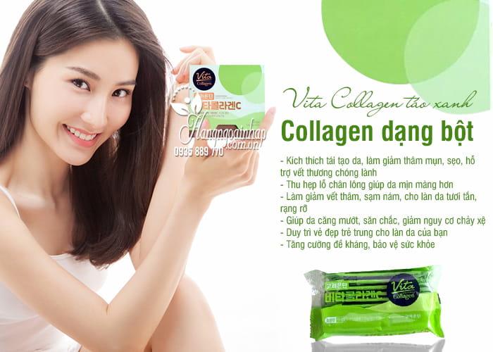 Vita Collagen táo xanh 1000mg Hàn Quốc - Collagen dạng bột 4