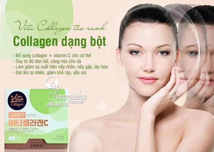 Vita Collagen táo xanh 1000mg Hàn Quốc - Collagen dạng bột 1