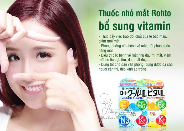 Thuốc Nhỏ Mắt Rohto vita 40 Chính Hãng Của Nhật Bản 8