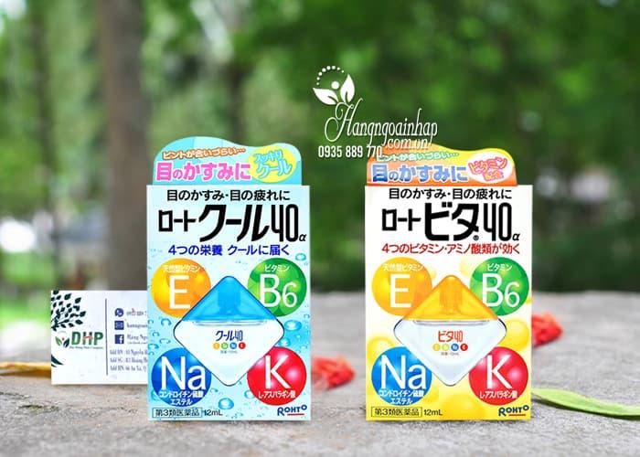 Thuốc Nhỏ Mắt Rohto vita 40 Chính Hãng Của Nhật Bản 9