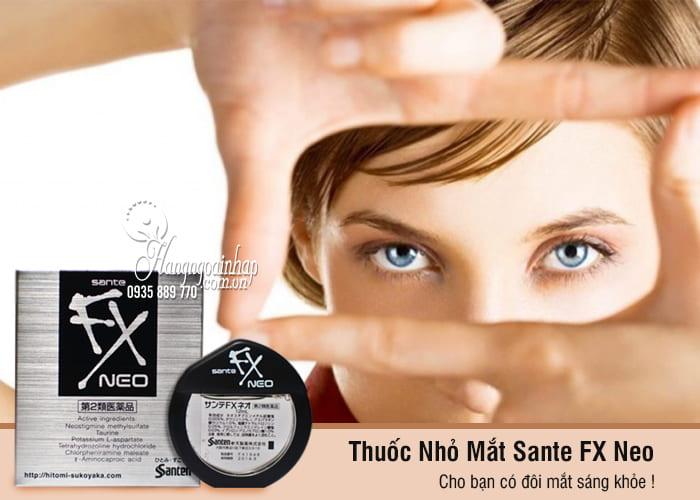 Thuốc Nhỏ Mắt Sante FX Neo 12ml chính hãng của Nhật 2