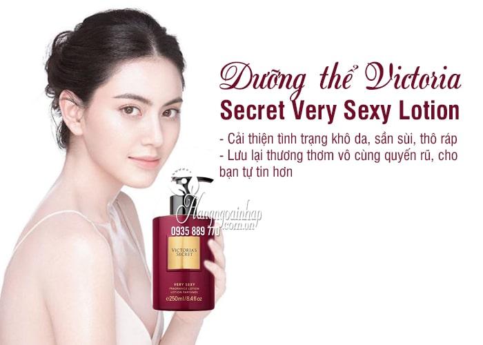 Dưỡng thể Victoria Secret Very Sexy Lotion 250ml của Mỹ 7