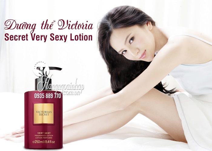 Dưỡng thể Victoria Secret Very Sexy Lotion 250ml của Mỹ 9