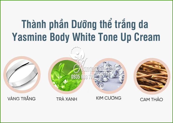 Dưỡng thể trắng da Yasmine Body White Tone Up Cream 100ml 7