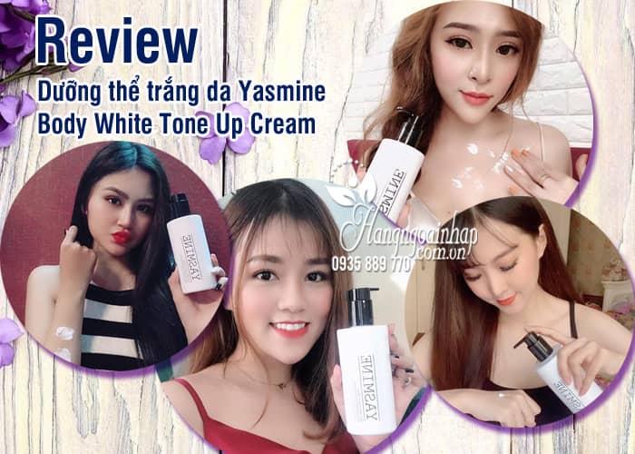 Dưỡng thể trắng da Yasmine Body White Tone Up Cream 100ml 1