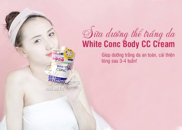 Sữa dưỡng thể trắng da White Conc Body CC Cream Nhật Bản 1