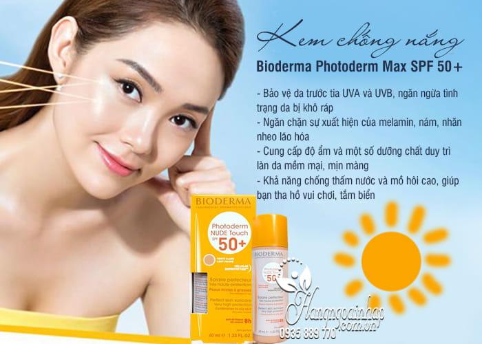 Kem chống nắng Bioderma Photoderm Max SPF 50+ 40ml của Pháp 4