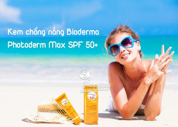 Kem chống nắng Bioderma Photoderm Max SPF 50+ 40ml của Pháp 1