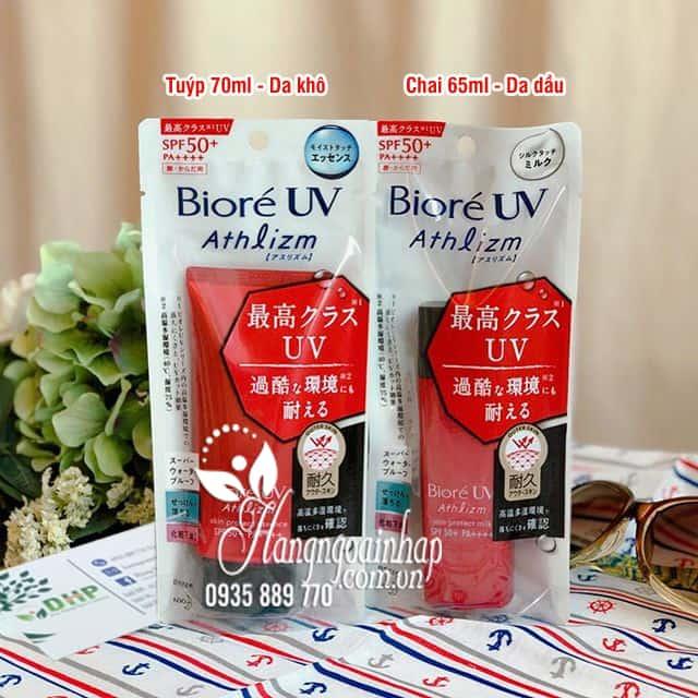 Kem chống nắng Biore UV Athlizm SPF50+ PA++++ Nhật Bản 2