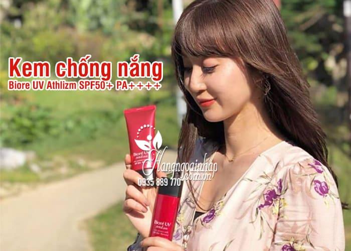 Kem chống nắng Biore UV Athlizm SPF50+ PA++++ Nhật Bản 1