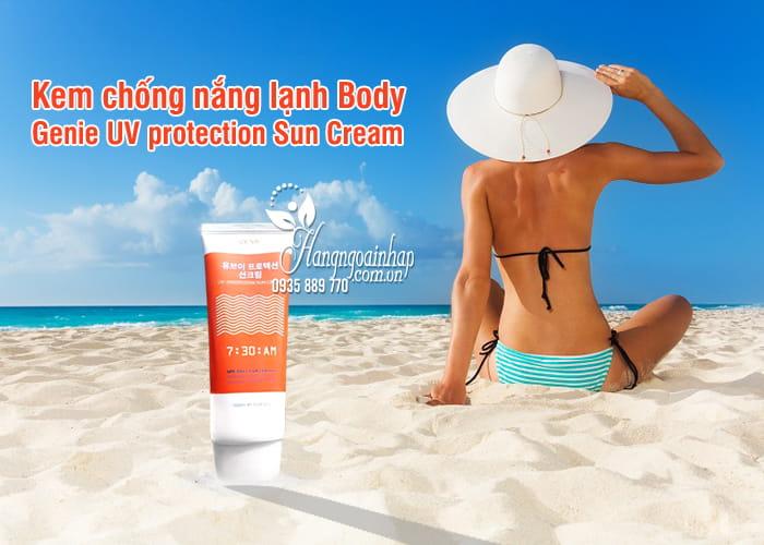 Kem chống nắng lạnh Body Genie UV protection Sun Cream Hàn Quốc 5