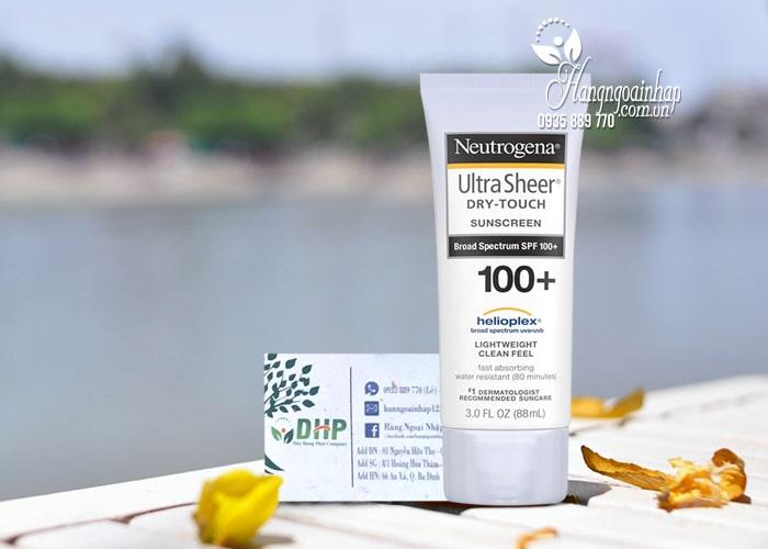 Kem chống nắng Neutrogena Ultra Sheer Dry Touch Sunscreen 88ml 0