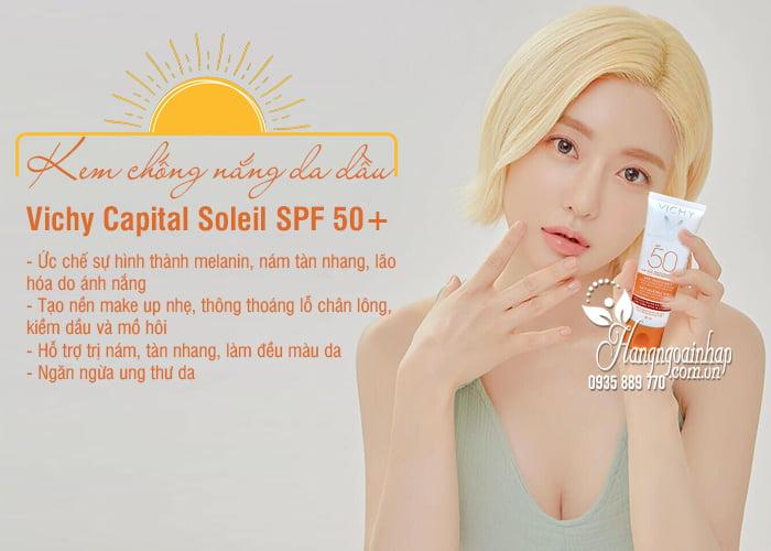 Kem chống nắng Vichy Capital Soleil SPF 50+ da dầu mới nhất 3