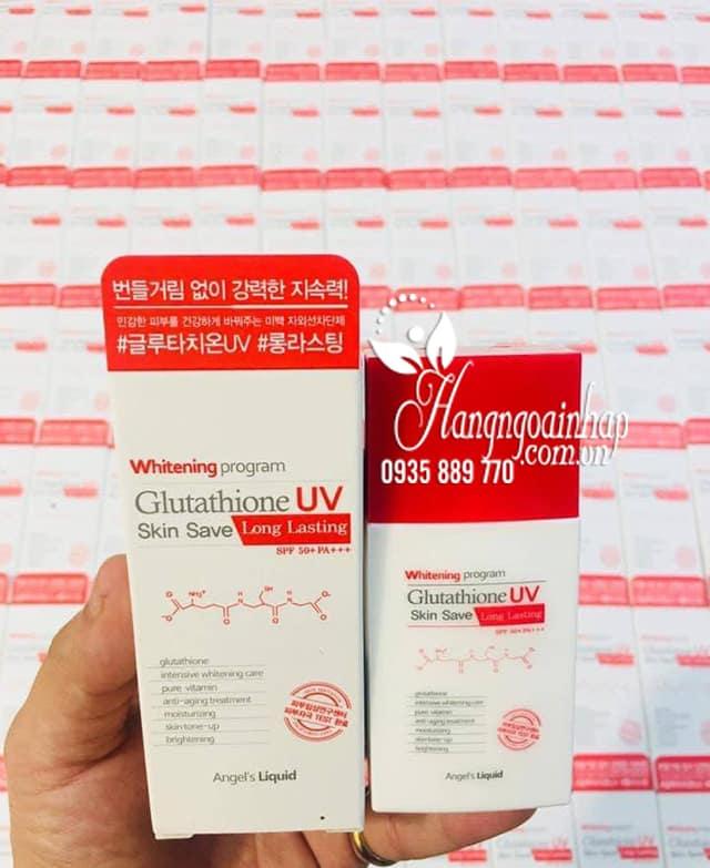 Kem chống nắng Glutathione UV Skin Save Angel's Liquid 1