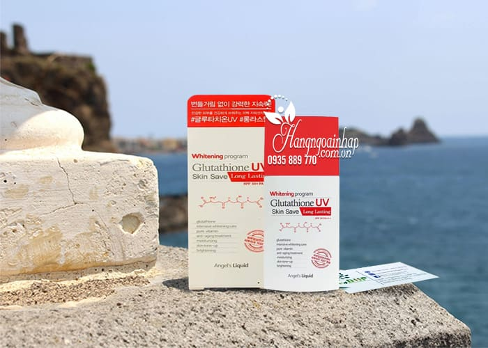 Kem chống nắng Glutathione UV Skin Save Angel's Liquid 6