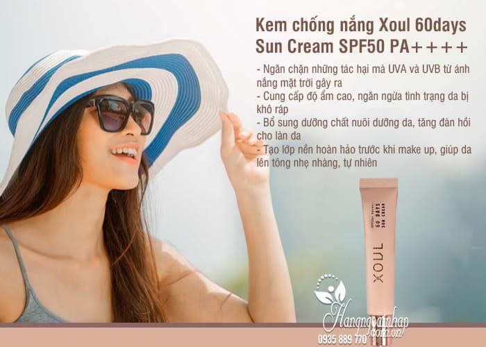 Kem chống nắng Xoul 60days Sun Cream SPF50 PA++++ Hàn Quốc 54