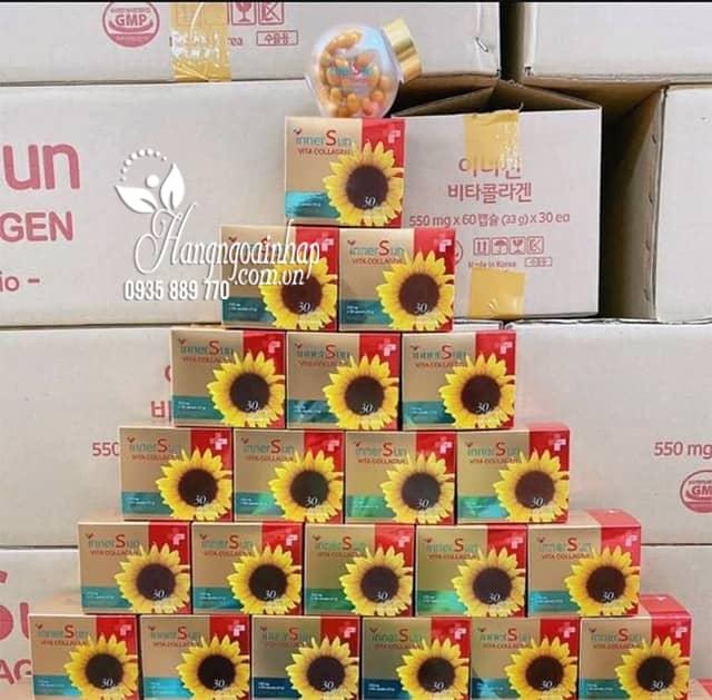Viên uống chống nắng Inner Sun Vita Collagen hộp 60 viên 9