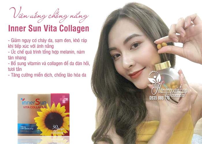 Viên uống chống nắng Inner Sun Vita Collagen hộp 60 viên 4
