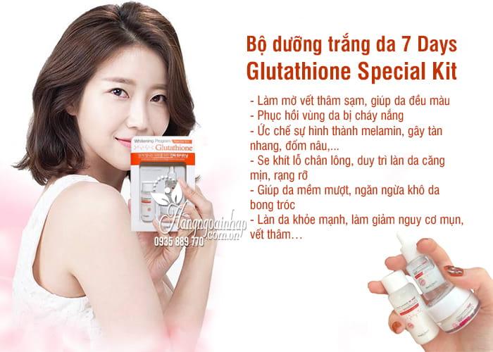 Bộ dưỡng trắng da 7 Days Glutathione Special Kit Hàn Quốc 4