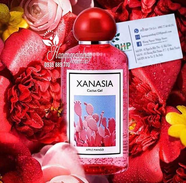 Gel dưỡng ẩm Xanasia Cactus Gel 300ml từ xương rồng đỏ 9