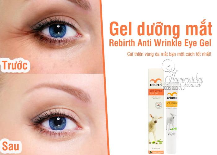 Gel dưỡng mắt Rebirth Anti Wrinkle Eye Gel giảm nhăn, quầng thâm 9