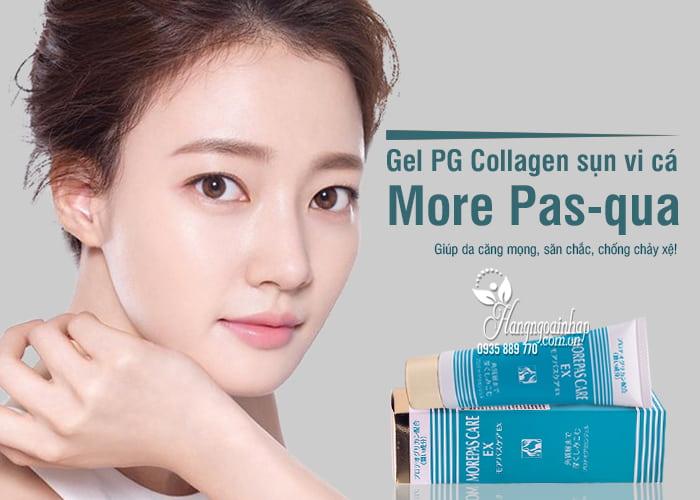 Gel PG Collagen sụn vi cá More Pas-qua 50g của Nhật Bản 1