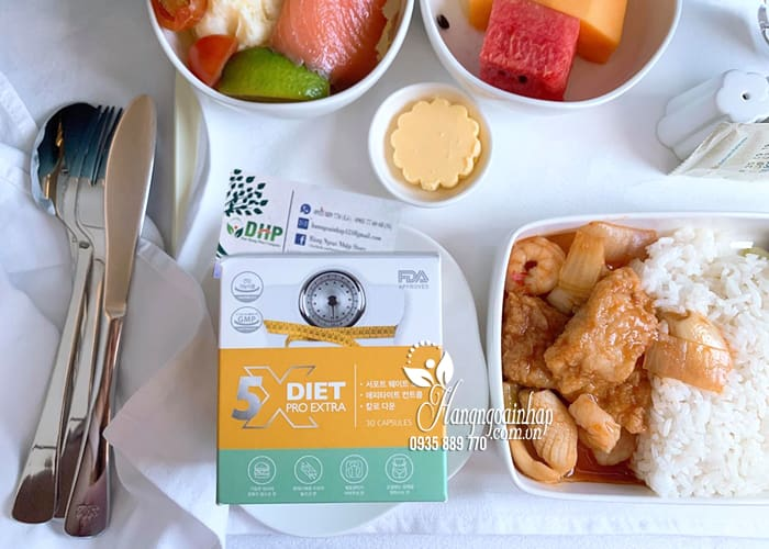 Giảm cân Genie x5 Diet Pro Extra 30 viên hiệu quả gấp 5 1
