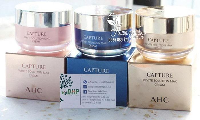 Kem dưỡng AHC Capture Solution Max Cream 50ml Hàn Quốc 2