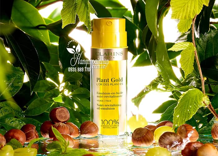 Kem dưỡng Clarins Plant Gold 2 in 1 của Pháp chai 35ml 2