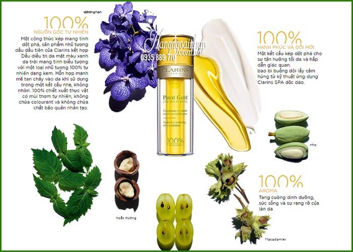 Kem dưỡng Clarins Plant Gold 2 in 1 của Pháp chai 35ml 9