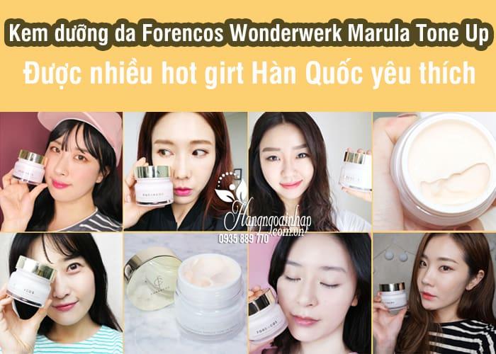 Kem dưỡng da Forencos Wonderwerk Marula Tone Up 8
