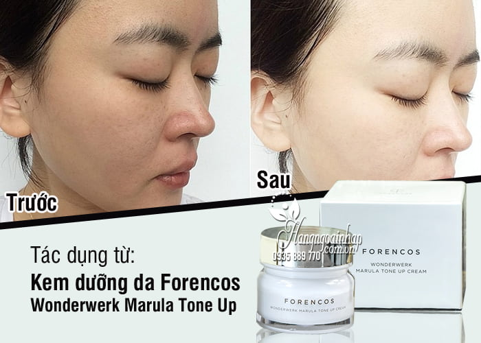 Kem dưỡng da Forencos Wonderwerk Marula Tone Up 7