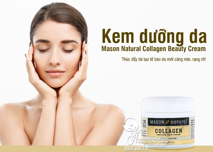 Kem dưỡng da Mason Natural Collagen Beauty Cream 57g 8