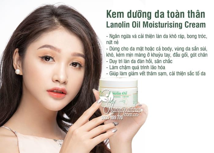 Kem dưỡng da toàn thân Lanolin Oil Moisturising Cream 250g 5